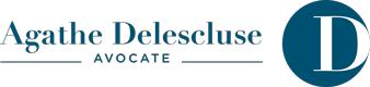 Agathe Delescluse - Avocate - Logo